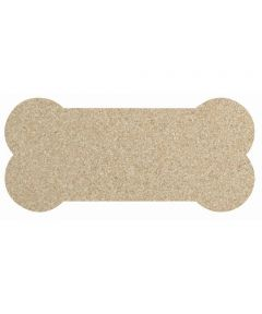 ORE' PET Skinny Bone Natural Recycled Rubber Pet Food Placemat