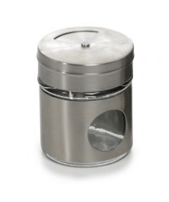 2 Ounce Glass Spice Shaker
