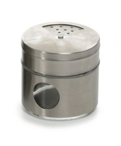 3.5 Ounce Glass Spice Shaker