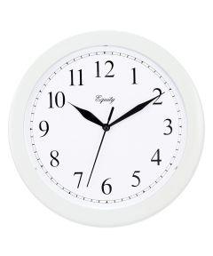 10 Inch Wall Clock, White