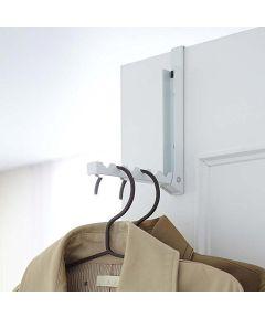 Smart Folding Over the Door Hook, White