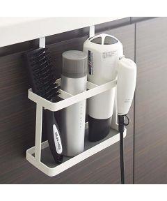 Tower Bath Hair Dryer & Iron Holder, White