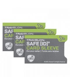 SAFE ID RFID Blocking Card Sleeves, Set of 3
