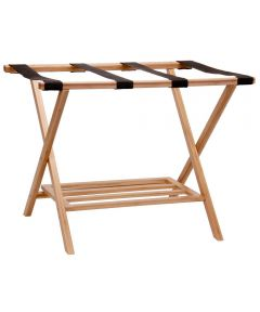 Bamboo Luggage Rack