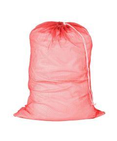 Mesh Laundry Bag, Red