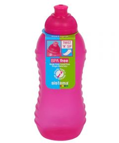 11 Ounce Twist N' Sip Drink Bottle, Assorted Colors