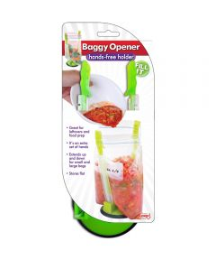 Hands Free Baggy Opener for Food Storage Bags