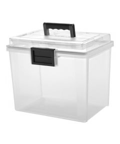 WEATHERTIGHT Portable File Box