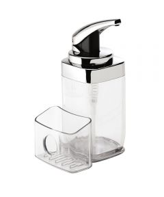 22 Ounce Soap Pump with Caddy, Square