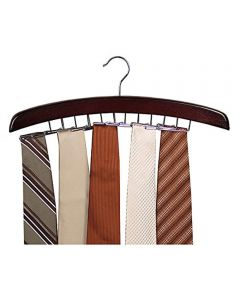 Tie Hanger, Dark Walnut