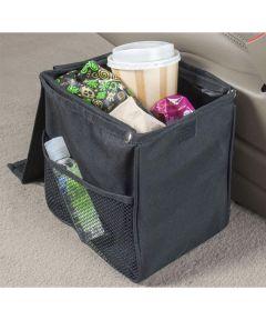 Leakproof Car TrashStand Litter Basket, Compact Size