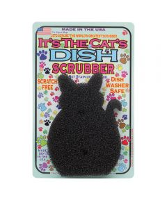 It's the Cat Dish Scrubber
