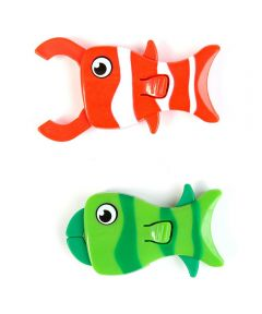 Magnetic Fish Clip for Food Bags, 2 Pack