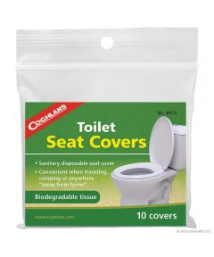 Flushable Toilet Seat Covers, 10 Pack