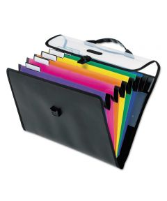 Desk Free Wall Hanging File Organizer with Carry Case