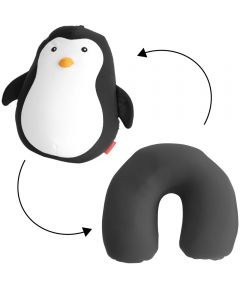 Zip and Flip Penguin Travel Pillow
