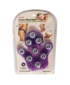Palm Massager Glove with Metal Balls