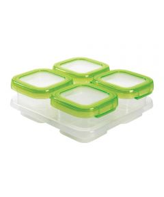 4 Ounce Baby Blocks Freezer Storage Containers