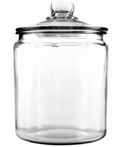 1/2 Gallon Glass Heritage Jar