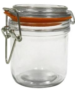 9.4 Ounce Glass Heremes Clamp Jar