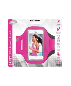 XFit Sport Universal Armband with Window, Pink