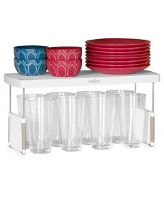 StoreMore 17 Inch Adjustable Shelf Riser Organizer