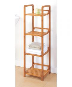 Lohas 4-Tier Bamboo Tower