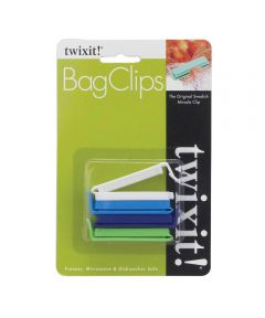 Small Bag Clips, 4 Pack