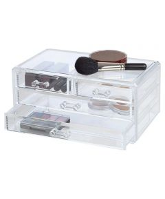 Clearly Chic 4-Drawer Cosmetic Organizer