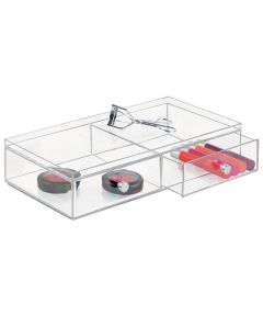 Clarity Cosmetic Organizer with 2 Drawers