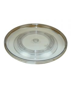 21 Inch Lazy Susan Turntable, Clear