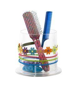 Acrylic Hair Accessory Organizer