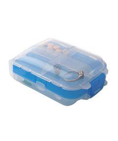 Tri-Fold Pill and Storage Box