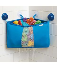 Kids Neoprene Bath Corner Caddy, Blue