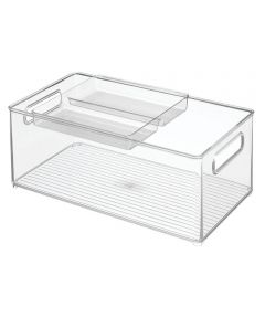 Fridge Binz Kitchen Storage Bin, 8x14x6, Set of 2