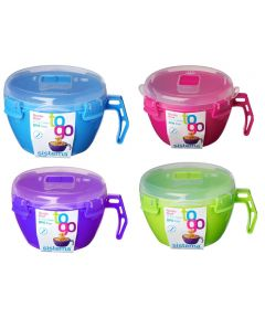 Noodle Bowl To Go Food Container, Assorted Colors