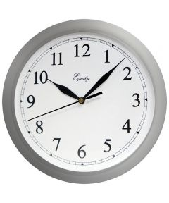 172650 JENSEN DISTRIBUTION SERVICES WALL CLOCK SILVER 10""