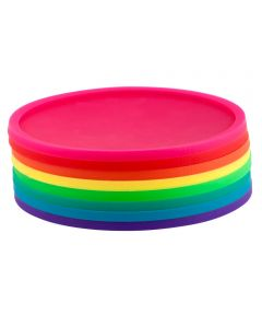 Rainbow Coasters, Set of 8 Colors