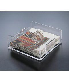 Acrylic Roller Style Napkin Holder