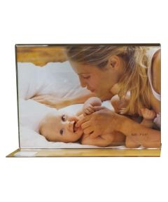 Acrylic 7 x 5 Inch Double Footed Picture Frame