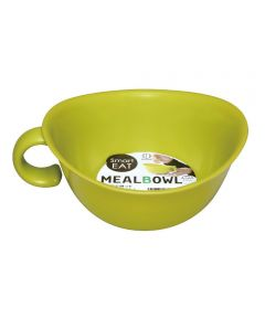 Meal Bowl with Handle, Green