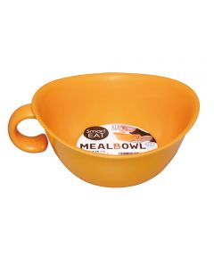 Meal Bowl with Handle, Orange
