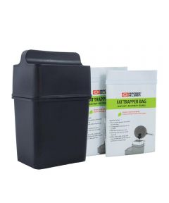 Fat Trapper Grease Disposal System with 2 Grease Bags