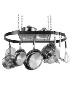 Hanging Steel Oval Pot Rack