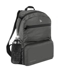 Anti-Theft Active Packable Backpack, Charcoal Gray