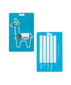 Personal Expression Luggage Tag, Llama