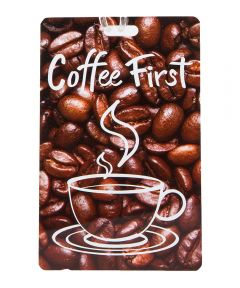 Personal Expression Luggage Tag, Coffee