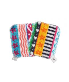Skoy Scrub Non Scratching Scrubber, 2 Pack, Assorted Colors