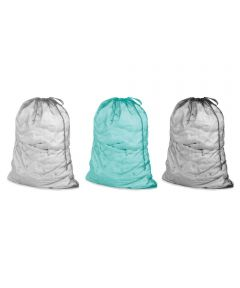 Whitmor 24 in. x .13 in. x 36 in. Mesh Laundry Bag, Assorted Colors