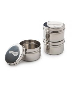 Mini Food Containers, 3 oz. (Set of 3)